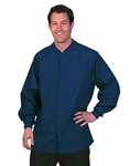 Fashion Seal - Unisex Navy FP Knit Clr Warm-Up Jacket. 7708