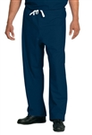 Fashion Seal - Unisex Navy FP Rev DCord Scrub Pant. 7715