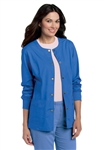 Landau - Snap Front Warm-Up Jacket with Rib Cuff. 3035