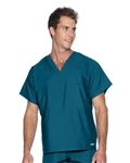 Landau - Unisex V-Neck Scrub Top. 7502