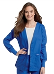 Landau - Womens Cardigan Warm-Up Jacket. 7535