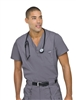 Landau - Men's Vented V-neck Scrub Top. 7594