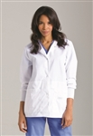 "Landau - Women's 28â…ž"" Modern Notebook Lab Coat. 7635"