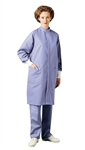 "Landau - 43"" Long Barrier Lab Coat. 9120"