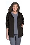 "Urbane - Women's ""Aubrey"" Button Front Warm-Up Jacket. 9871"