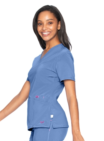 3976d173e0e Smitten - Rock Goddess Women's V-Neck Scrub Top S101002