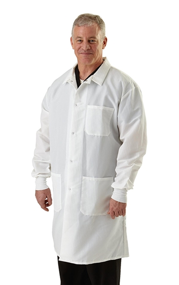 Medline -  Men's Resistat® Protective Lab Coat. MDT046805