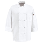 Red Kap - Men's Executive Chef Coat. 0420WH