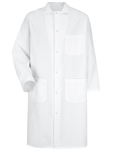 Red Kap - Men's Gripper Front Butcher Coat Inside Top Pocket. 4004HW