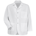 Red Kap - Men's Notch Collar Label Counter Coat. 4010WH
