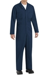 Red Kap - Men's Twill Action-Back Navy Coverall. CT10NV