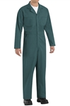 Red Kap - Men's Twill Action-Back Spruce Green Coverall. CT10SG