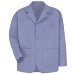 Red Kap - Men's Three Button Label Counter Coat. KP10LB