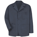 Red Kap - Men's Three Button Label Counter Coat. KP10NV
