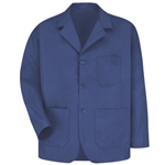 Red Kap - Men's Three Button Label Counter Coat. KP10RB