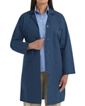 Red Kap - Women's Navy Lab Coat. KP13NV