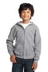 Gildan - Youth Heavy Blend Full-Zip Hooded Sweatshirt. 18600B