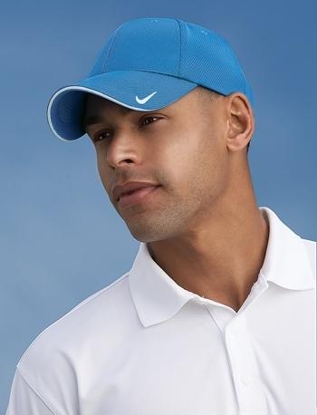 a309dcb13 Nike Golf - Dri-FIT Mesh Swoosh Flex Sandwich Cap. 333115