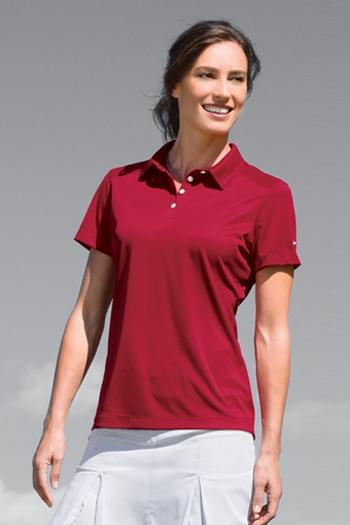 ca6116c7 Nike Golf - Ladies Dri-FIT Pebble Texture Polo. 354064. Larger Photo ...