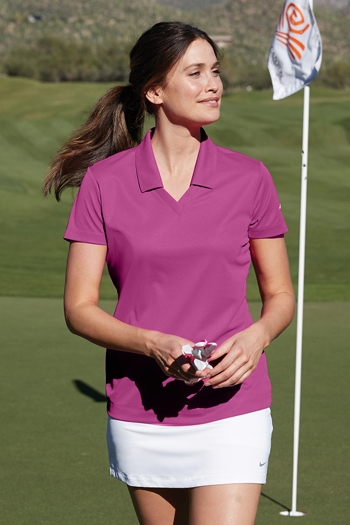 6a5ce0b6 Nike Golf - Ladies Dri-FIT Micro Pique Polo. 354067