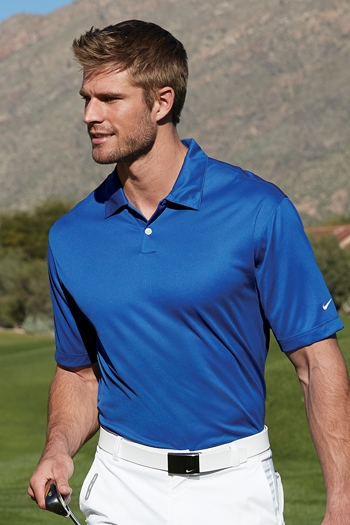 prima clienti Prezzo del 50% molto carino Nike Golf - Dri-FIT Pebble Texture Polo. 373749