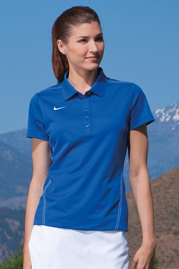 bb4a24cdc Nike Golf - Ladies Dri-FIT Sport Swoosh Pique Polo. 452885. Larger Photo ...