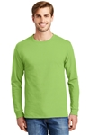 Hanes - Tagless 100% Cotton Long Sleeve T-Shirt. 5586