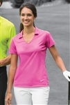 Nike - Ladies Dri-FIT Vertical Mesh Polo. 637165