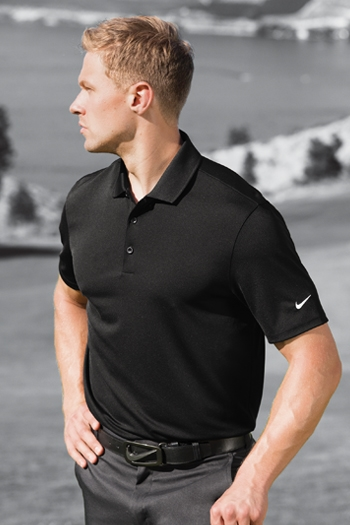 Nike - Dri-FIT Players Polo with Flat Knit Collar. 838956