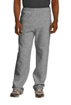JERZEES - NuBlend Open Bottom Pant with Pockets. 974MP