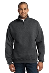 JERZEES - 1/4-Zip Cadet Collar Sweatshirt. 995M