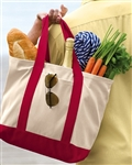 Port Authority - 2-Tone Shopping Tote. B400
