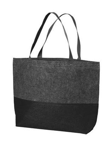 Port Authority - Large Felt Tote. BG402L