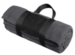 Port Authority - Fleece Blanket with Carrying Strap. BP20