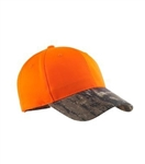 Port Authority - Safety Cap with Camo Brim. C804