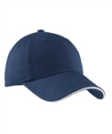 Port Authority Signature  - Sandwich Bill Cap with Striped Closure.  C830