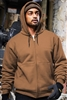CornerStone - Heavyweight Full-Zip Hooded Sweatshirt with Thermal Lining. CS620