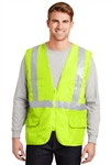 CornerStone - ANSI Class 2 Mesh Back Safety Vest. CSV405