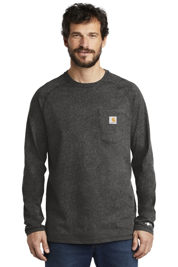 Carhartt Force ® - Cotton Delmont Long Sleeve T-Shirt. CT100393