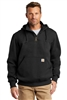 Carhartt - Rain Defender ® Paxton Heavyweight Hooded Zip Mock Sweatshirt. CT100617