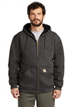 Carhartt - Rain Defender ® Rutland Thermal-Lined Hooded Zip-Front Sweatshirt. CT100632