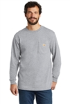 Carhartt - Men's Long Sleeve WorkWear Pocket T-shirt. K126