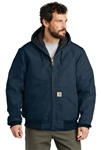 Carhartt - Quilted Flannel Lined Duck Active Jacket. CTSJ140