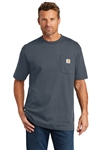 Carhartt - Men's Workwear Pocket Short Sleeve T-shirt (Tall). CTTK87