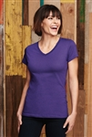 District - Ladies Perfect Weight V-Neck Tee. DM1170L