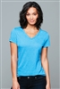District - Women's Perfect Tri ® V-Neck Tee. DM1350L