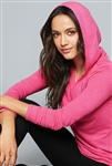 District - Women's Perfect Tri ® Long Sleeve Hoodie. DM139L