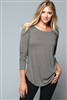 District - Women's Perfect Tri ® Long Sleeve Tunic Tee. DT132L