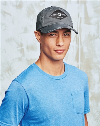 District Threads  - Distressed Cap.  DT600