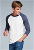 District - Very Important Tee ® 3/4-Sleeve Raglan. DT6210